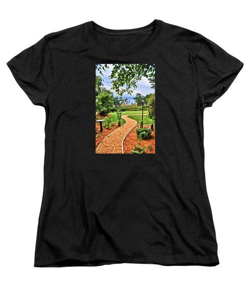 Garden Path To Wild Marsh Women's T-Shirt (Standard Cut)