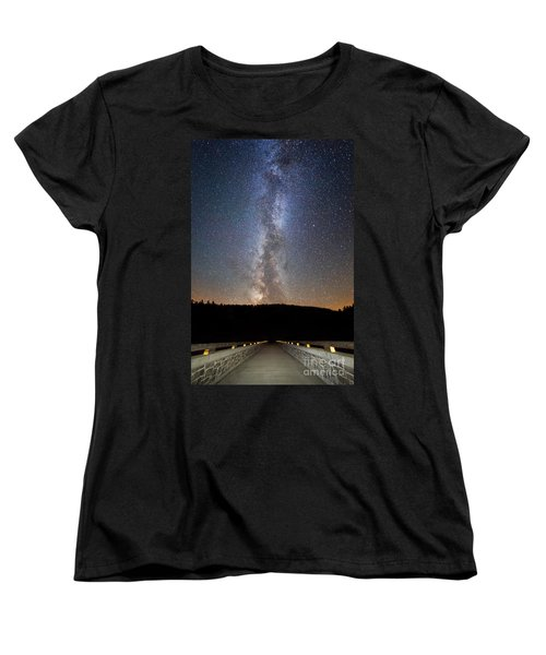 Path To Our Galaxy   Women's T-Shirt (Standard Cut)