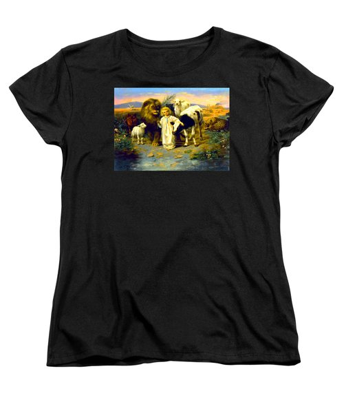 Peace Women's T-Shirt (Standard Cut) by William Strutt
