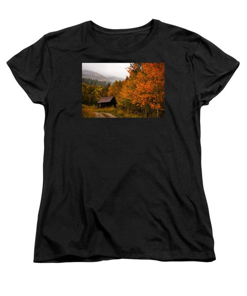 Women's T-Shirt (Standard Cut) featuring the photograph Peaceful by Ken Smith