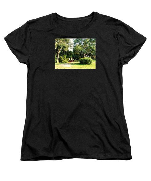 Peaceful Morning Women's T-Shirt (Standard Cut) by Catherine Gagne