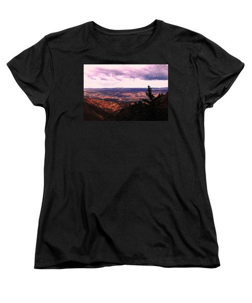 Peaceful Valley Women's T-Shirt (Standard Cut) by Matt Harang