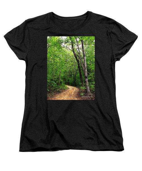 Peaceful Walk Women's T-Shirt (Standard Cut) by Lydia Holly