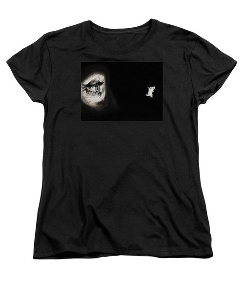 Peeping Tom - Psycho Women's T-Shirt (Standard Cut) by Fred Larucci