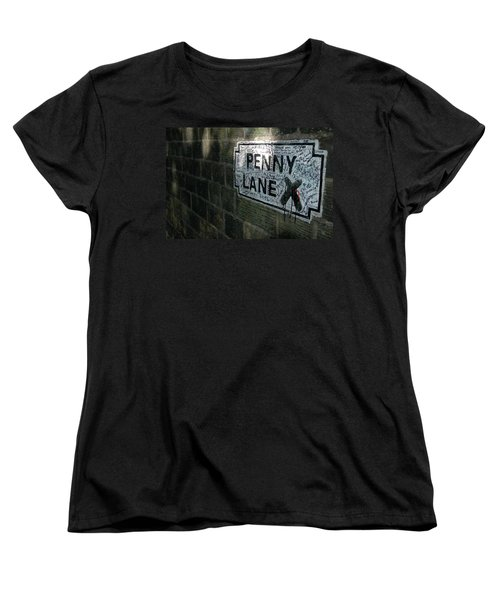 Penny Lane Women's T-Shirt (Standard Cut) by Jonah  Anderson