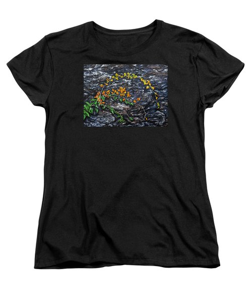 Women's T-Shirt (Standard Cut) featuring the painting Persistence by Craig T Burgwardt