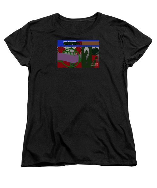 Women's T-Shirt (Standard Cut) featuring the photograph Persistence by Tina M Wenger