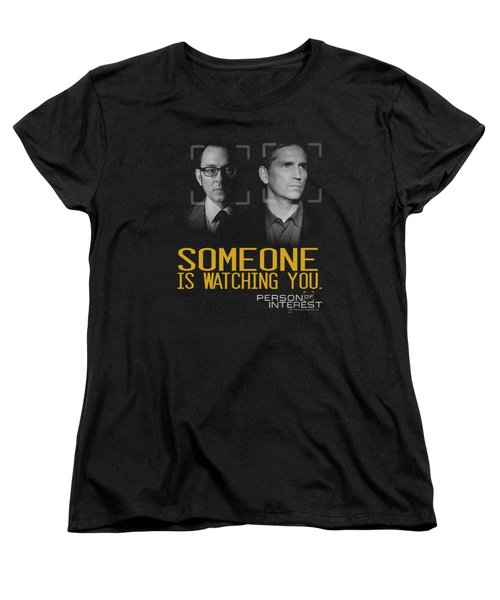 Person Of Interest - Someone Women's T-Shirt (Standard Cut) by Brand A