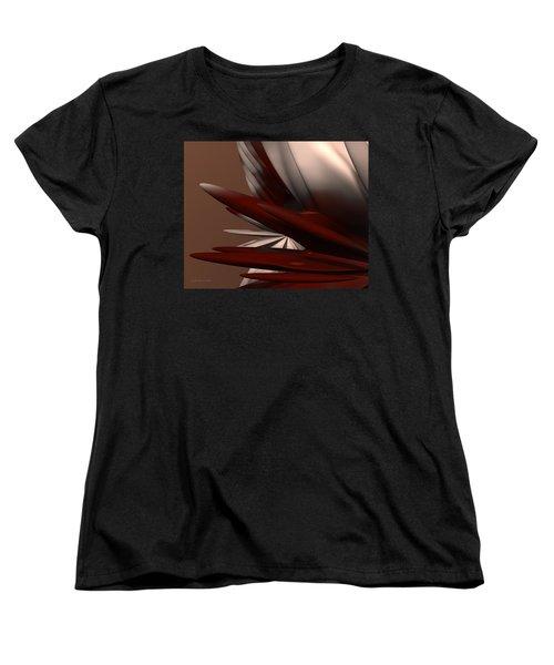 Petals And Stone 2 Women's T-Shirt (Standard Cut) by Judi Suni Hall