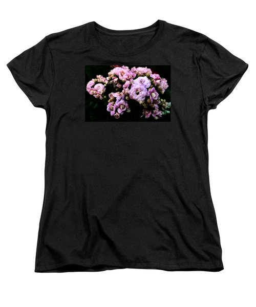 Petite And Pink Women's T-Shirt (Standard Cut) by Steve Taylor