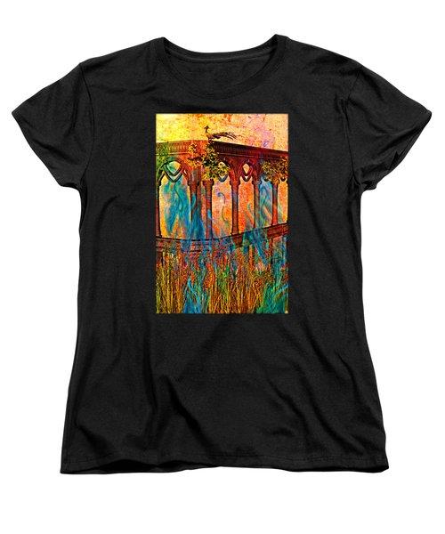 Phantom Fires Women's T-Shirt (Standard Cut) by Ally  White