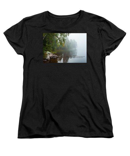 Philippians 4 Verse 7 Women's T-Shirt (Standard Cut) by Rose-Maries Pictures
