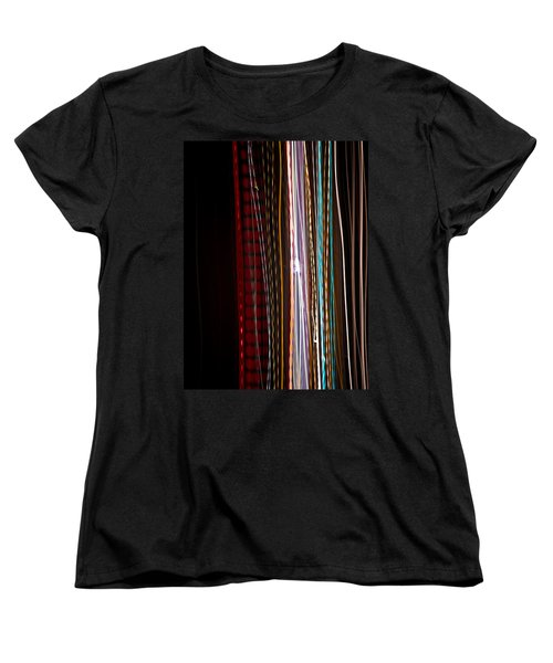 Women's T-Shirt (Standard Cut) featuring the photograph Pilgrimage Of Lights 1 by Joel Loftus