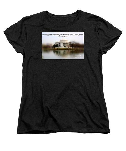Pillars Of Strength Women's T-Shirt (Standard Cut) by Patti Whitten