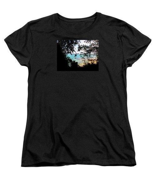 Women's T-Shirt (Standard Cut) featuring the photograph Picturesque by Amar Sheow