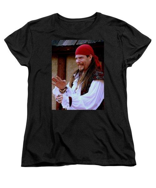 Pirate Shantyman Women's T-Shirt (Standard Cut)