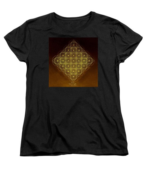 Women's T-Shirt (Standard Cut) featuring the drawing Planck Space Time  by Jason Padgett