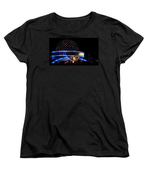 Women's T-Shirt (Standard Cut) featuring the photograph Planetarium by Silvia Bruno