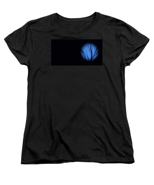 Women's T-Shirt (Standard Cut) featuring the photograph Plant's Eye by Angela J Wright