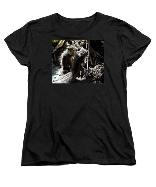 Women's T-Shirt (Standard Cut) featuring the photograph Playing U.f.c. by Brian Williamson