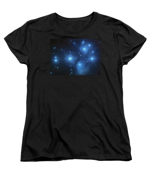 Pleiades - Star System Women's T-Shirt (Standard Cut) by Absinthe Art By Michelle LeAnn Scott