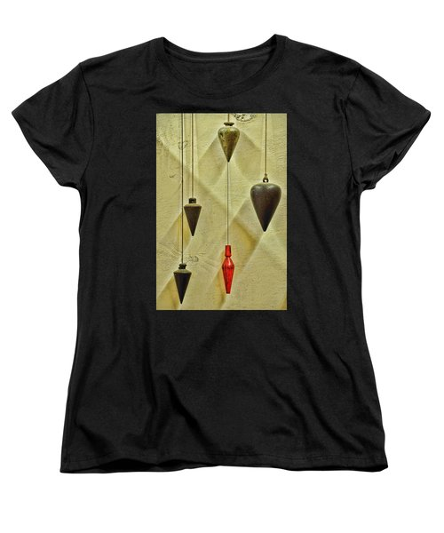 Plumb Red Women's T-Shirt (Standard Cut) by Jan Amiss Photography