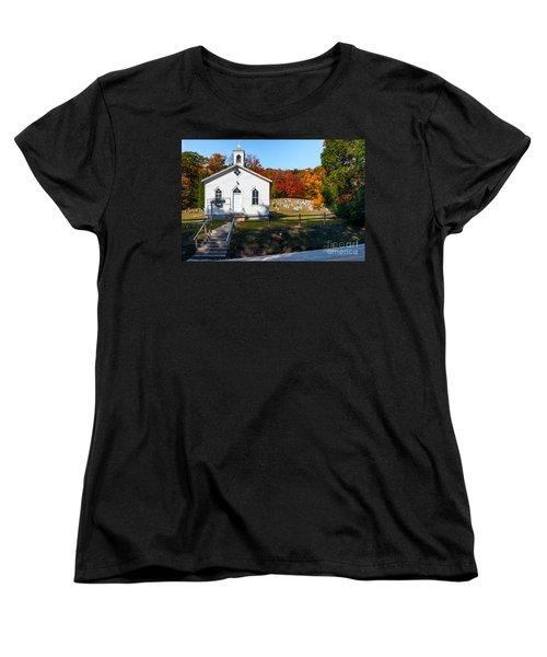 Point Mountain Community Church - Wv Women's T-Shirt (Standard Cut) by Kathleen K Parker