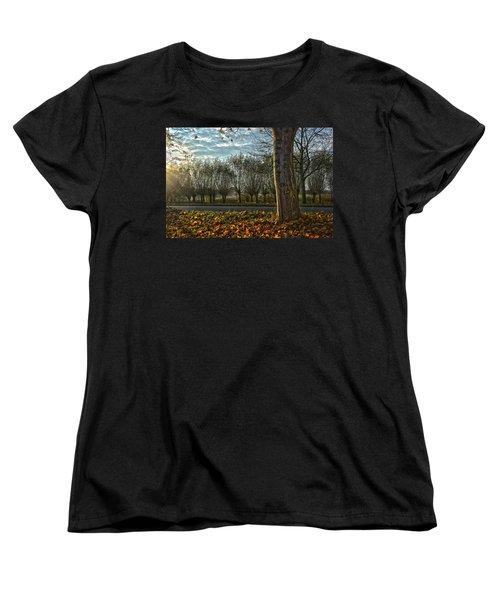 Pollard Willows In Rotterdam Women's T-Shirt (Standard Cut) by Frans Blok