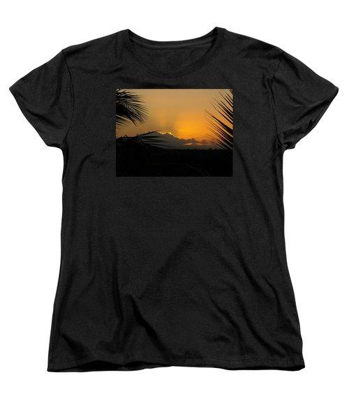 Ponce Sunrise Women's T-Shirt (Standard Cut) by Daniel Sheldon