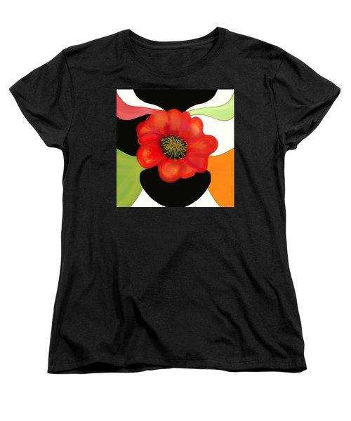 Pop Poppy Women's T-Shirt (Standard Cut)