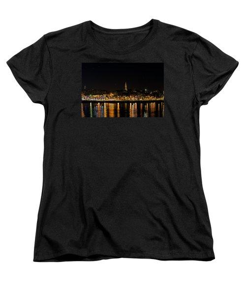 Port Lights Women's T-Shirt (Standard Cut) by James  Meyer