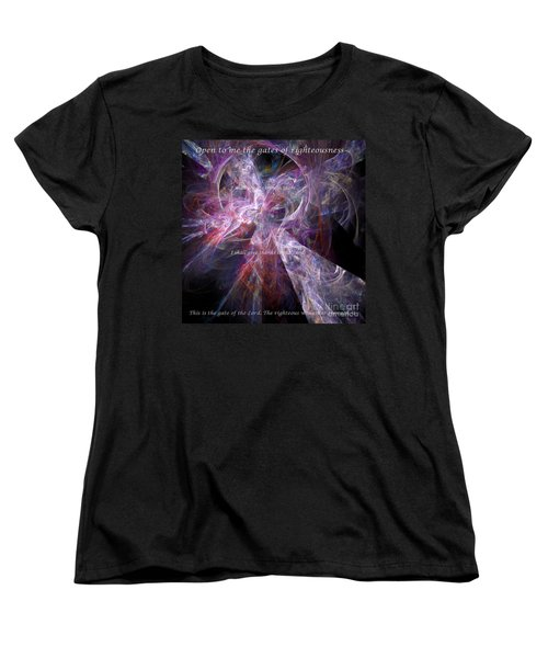 Portal Women's T-Shirt (Standard Cut) by Margie Chapman