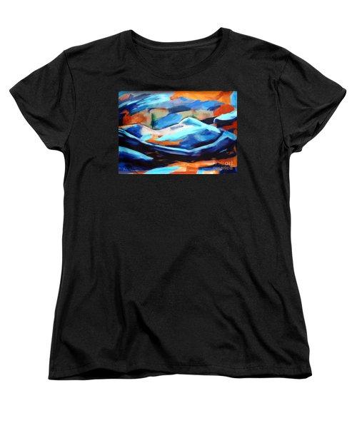 Portrait Of A Figure Women's T-Shirt (Standard Cut)