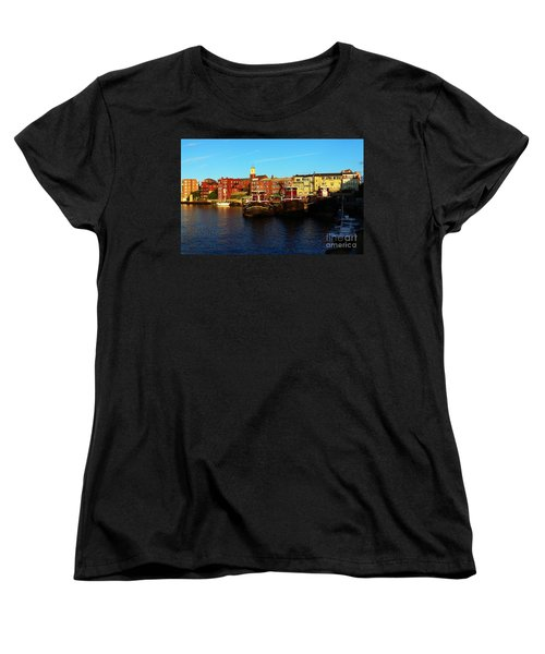 Portsmouth In The Afternoon Women's T-Shirt (Standard Cut) by Kevin Fortier