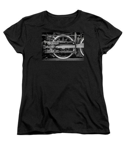 Women's T-Shirt (Standard Cut) featuring the photograph Power Stroke by Ken Smith
