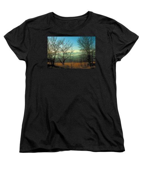 Prairie Autumn 2 Women's T-Shirt (Standard Cut) by Terry Reynoldson