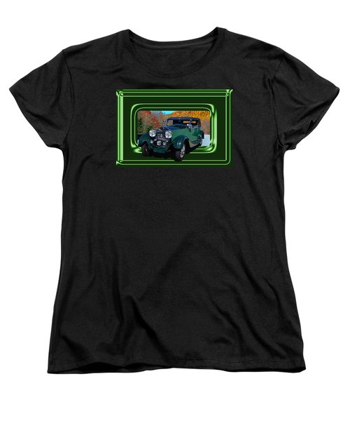 Women's T-Shirt (Standard Cut) featuring the photograph Pretentious by Larry Bishop