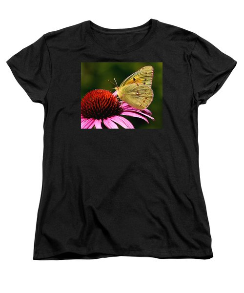Pretty As A Butterfly Women's T-Shirt (Standard Cut) by Roger Becker