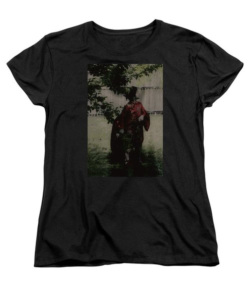 Women's T-Shirt (Standard Cut) featuring the photograph Princess Of Tranquility  by Jessica Shelton