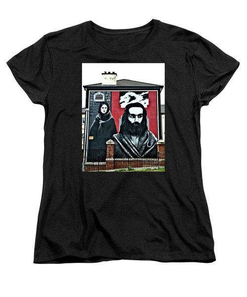 Prison Protest Women's T-Shirt (Standard Cut) by Nina Ficur Feenan