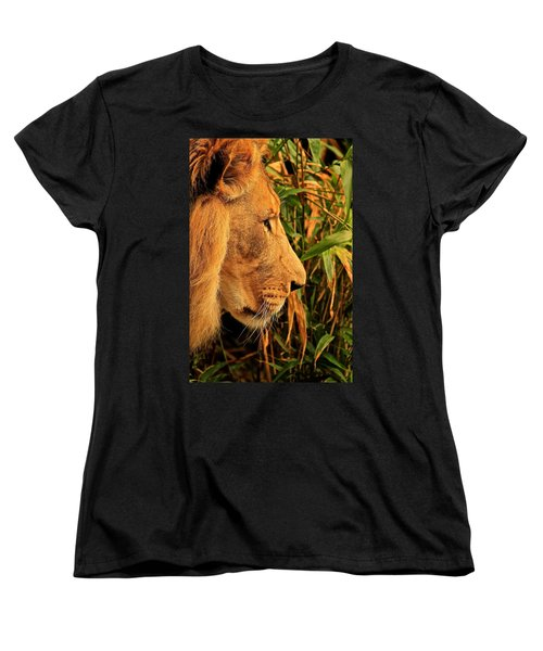 Profiles Of A King Women's T-Shirt (Standard Cut) by Laddie Halupa