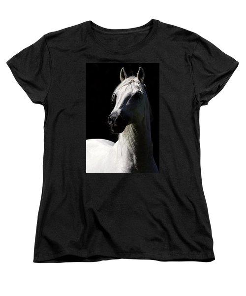 Proud Stallion Women's T-Shirt (Standard Cut) by Wes and Dotty Weber