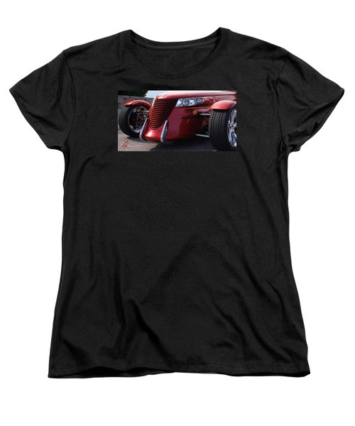 Women's T-Shirt (Standard Cut) featuring the photograph Prowler  by Chris Thomas