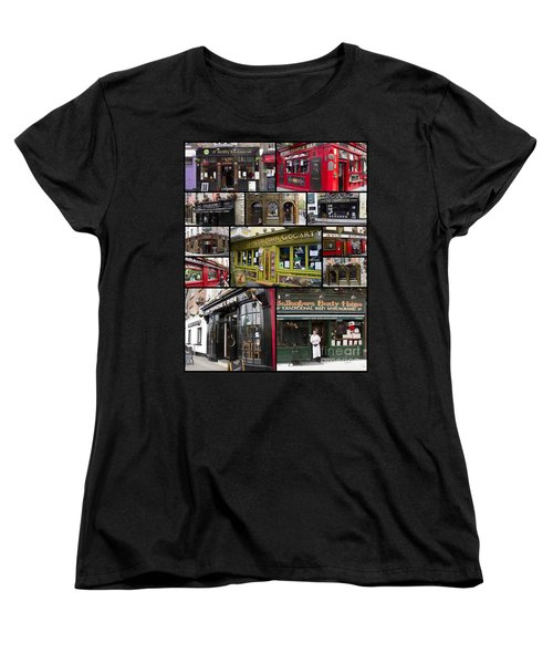 Pubs Of Dublin Women's T-Shirt (Standard Cut) by David Smith