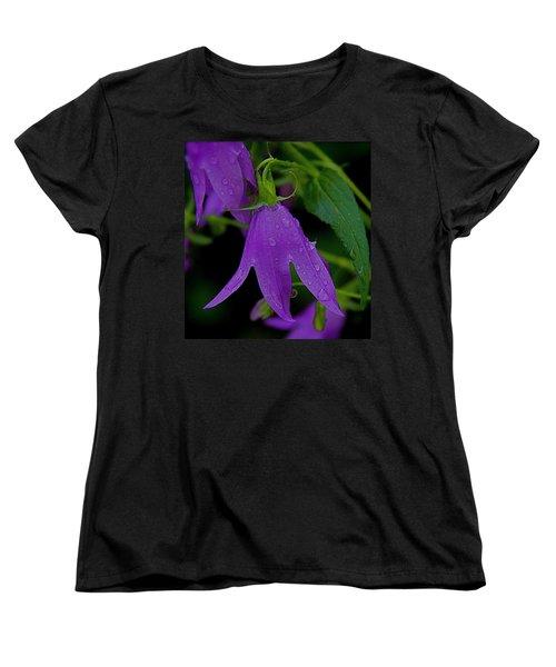 Purple Women's T-Shirt (Standard Cut) by Daniel Sheldon