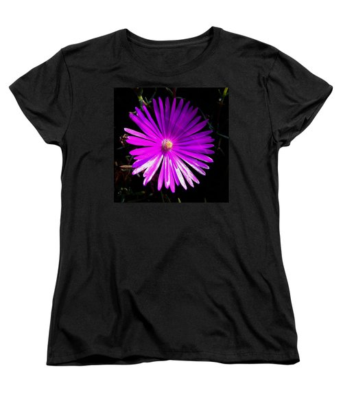 Purple Glow Women's T-Shirt (Standard Cut) by Pamela Walton