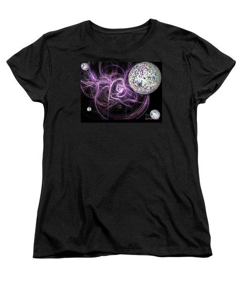 Purple Haze Women's T-Shirt (Standard Cut) by Jacqueline Lloyd