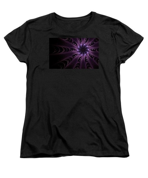 Purple Passion Women's T-Shirt (Standard Cut) by GJ Blackman