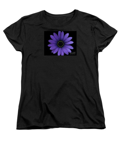 Women's T-Shirt (Standard Cut) featuring the photograph Purple Peace by Janice Westerberg
