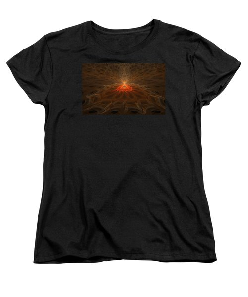 Pyre Women's T-Shirt (Standard Cut) by GJ Blackman